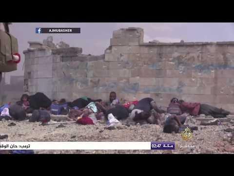معركة الموصل.. نازحون