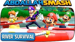 Super Mario Party:  River Survival Gameplay!