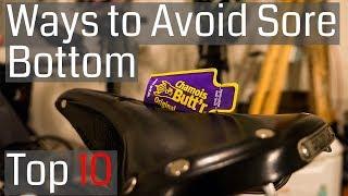 Top Ten Ways to Prevent a Sore Bottom when Cycling