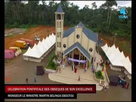OBSEQUES DE MARTIN BELINGA  EBOUTOU DU  08 JUIN  2019