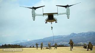 "MV-22 FAST ROPE ""Fight the Rotor Wash"""