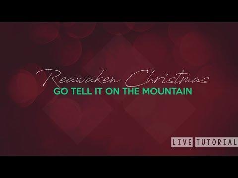 Go Tell It On The Mountain (Live Christmas Hymn Tutorial) thumbnail