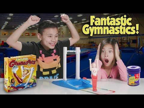 Thumbnail: FANTASTIC GYMNASTICS CHALLENGE!!! Loser Gets Bean Boozled!