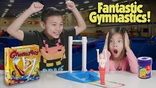 Repeat youtube video FANTASTIC GYMNASTICS CHALLENGE!!! Loser Gets Bean Boozled!