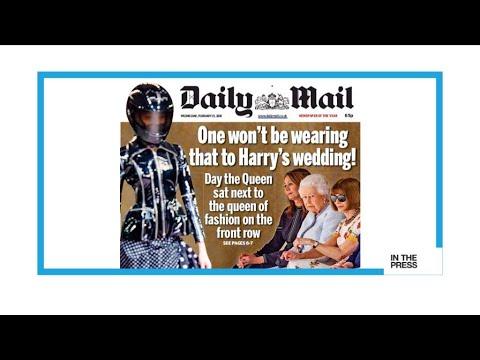 فرانس 24:Royal gatecrasher! Queen Elizabeth attends London Fashion Week