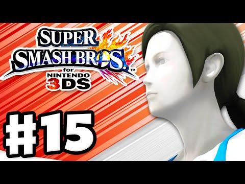 Super Smash Bros. 3DS - Gameplay Walkthrough Part 15 - Wii Fit Trainer! (Nintendo 3DS Gameplay)