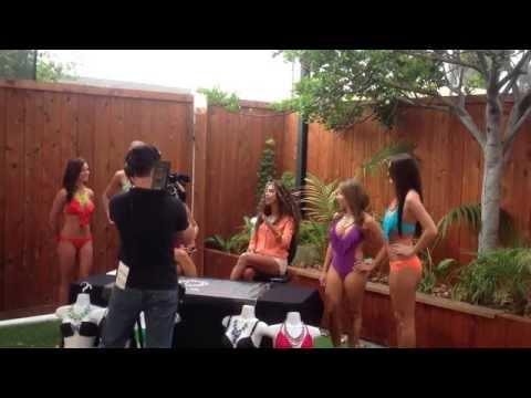 Ashlyn Featured on San Diego 6 CW News Promoting Havanarue.com