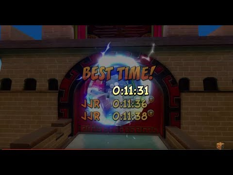 Crash Bandicoot N. Sane Trilogy Orient Express 11:31