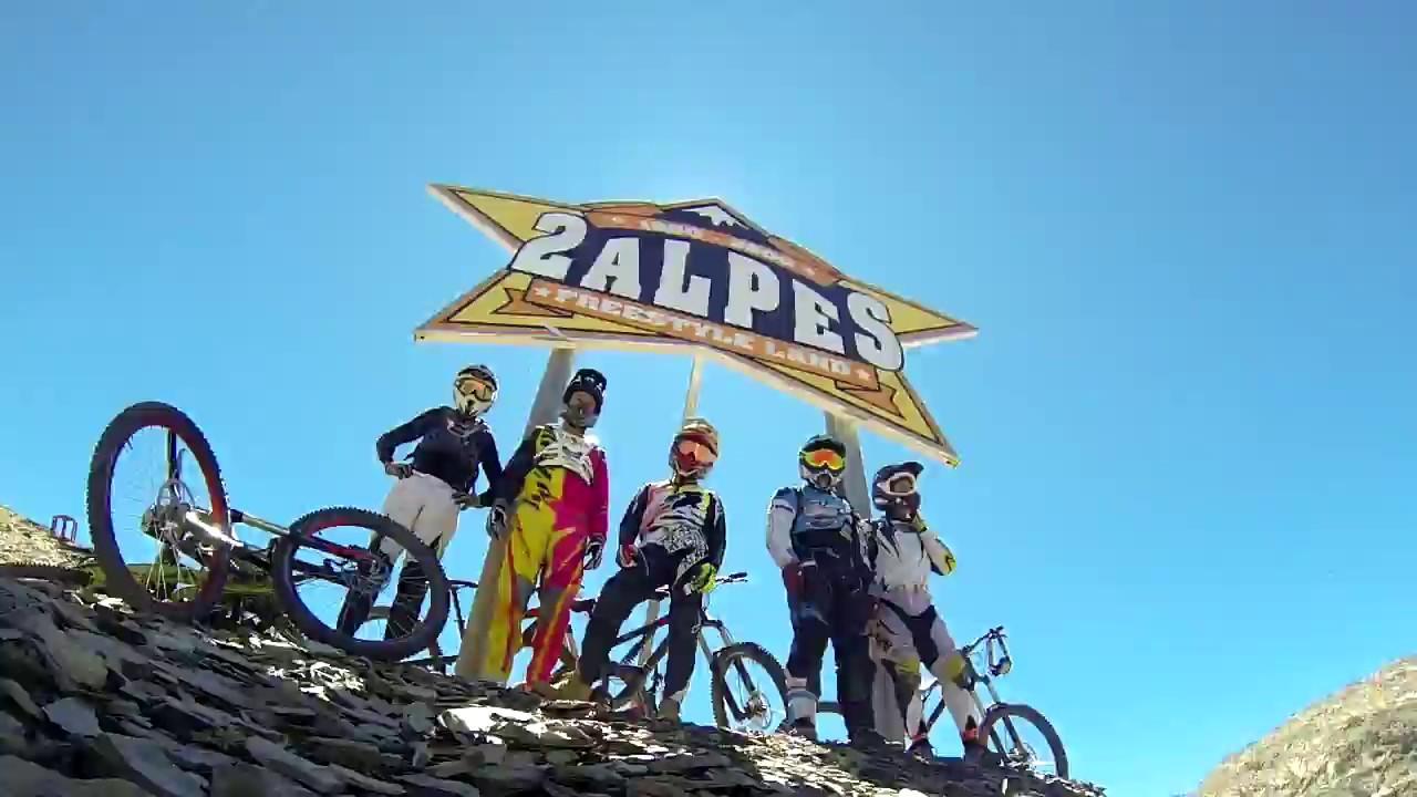 Les deux alpes 2015 youtube for Dans gwadek 2