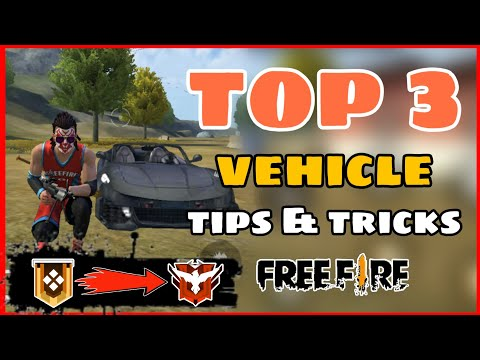 Free Fire || Top 3 Vehicle Rank Push Tips and Tricks  || Free Fire -4G Gamers