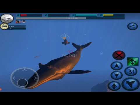 Blue Whale Simulator 3D - Deep Ocean Ultimate Ocean Simulator By GlutenFree games