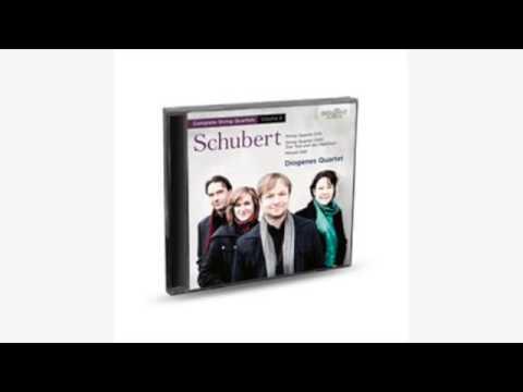 SCHUBERT - COMPLETE STRING QUARTETS, VOL. 4 1CD Brilliant Classics (artikel 94464)