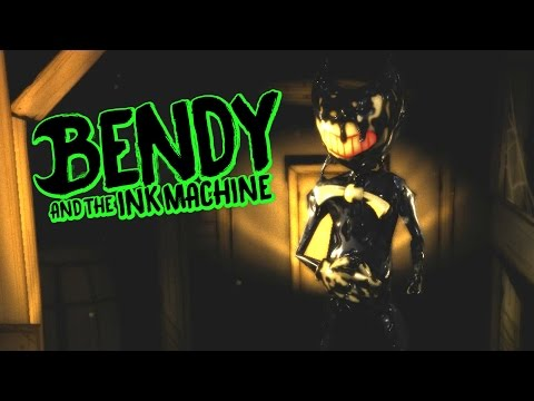 Meeting Bendy Face to Face! - Bendy and the Ink Machine - Chapter 2 - Bendy Reaction