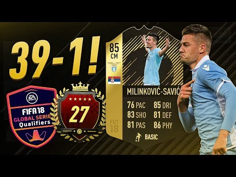 ANOTHER 39-1 WITH THE SERBIAN KING! FUT CHAMPIONS TOP 100 GAMEPLAY
