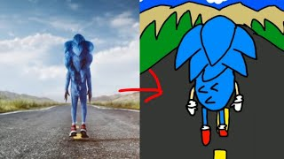 Sonic Movie Trailer (2019) Reanimated