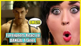 Foreigners React to DANGAL Trailer - Aamir Khan