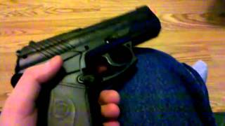 crosman airmag c11 and game face verdict marker bb review