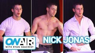 Nick Jonas Strips Down!   On Air with Ryan Seacrest