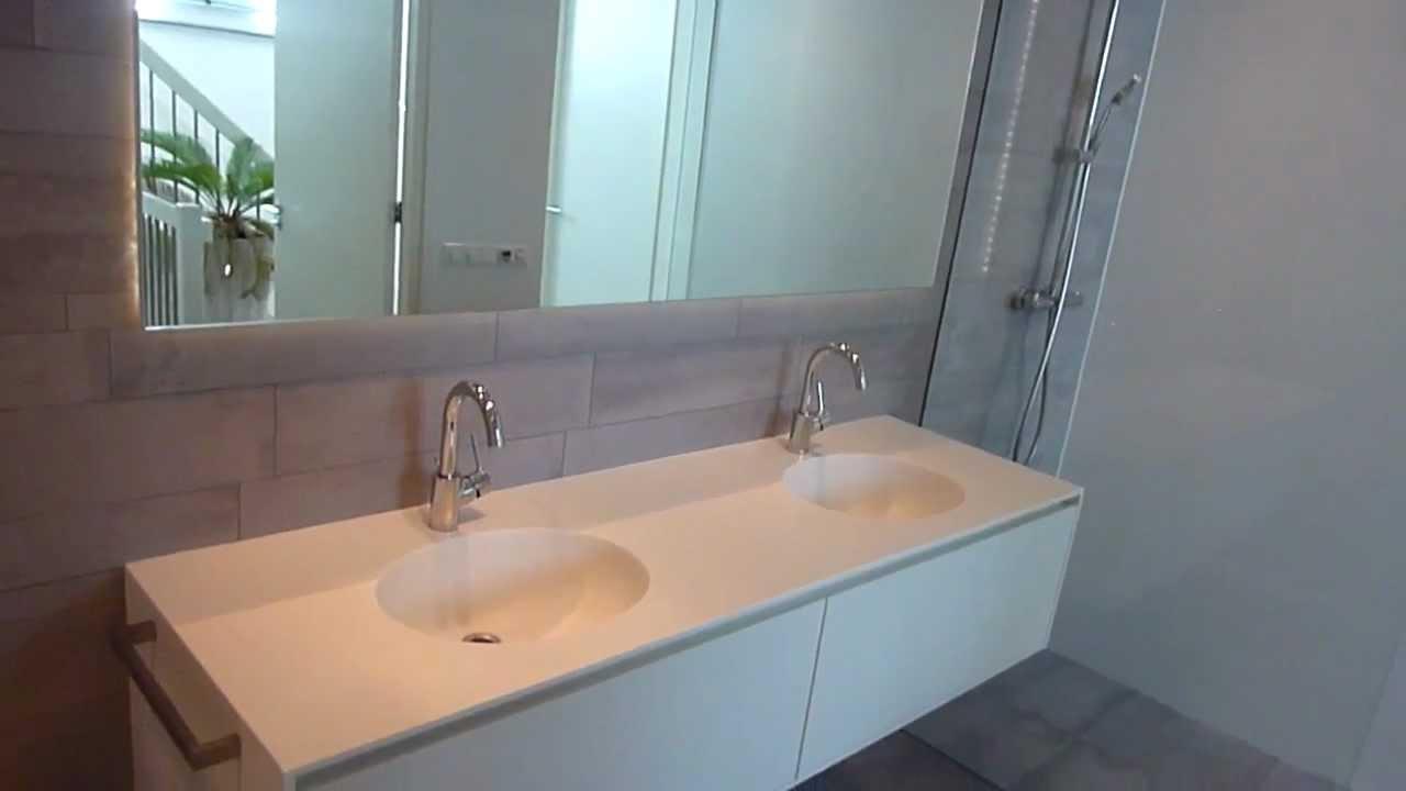 nieuwbouw project) Luxe badkamer - YouTube