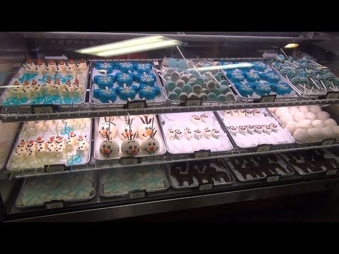FROZEN Merchandise at Wandering Oaken's Trading Post, Disney's Hollywood Studios Summer Fun