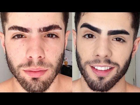 Famosos Destacando a sobrancelha - UMA RAPIDINHA - YouTube IL92