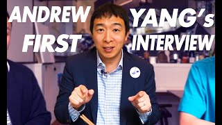 Why We Need an Asian as President - Andrew Yang Explains That and More...