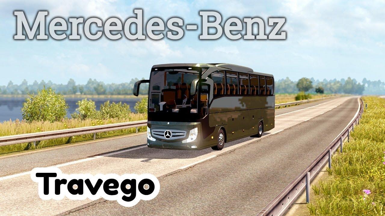 ETS2 Mercedes Benz Travego BUS MOD by Coach Bus