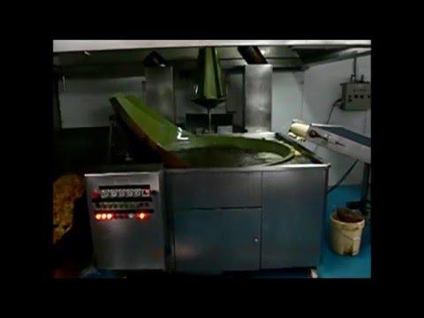 Freidora industrial de patatas artesana mafrigarlo youtube for Freidora industrial
