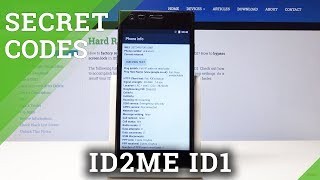 Secret Codes ID2ME ID1 - Testing Menu / Secret Options