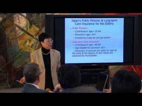【JGC】Aging Society(Part 2) Prof. Noriko Tsuya