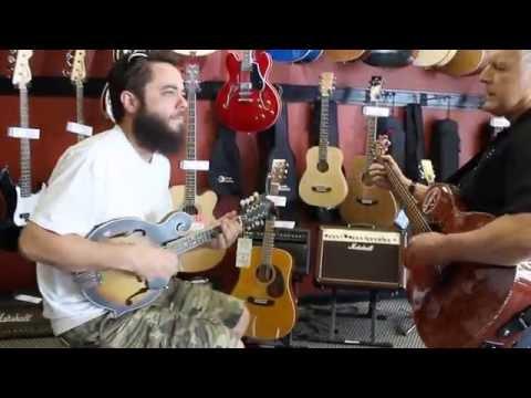 Tanglewood Mandolin - Jam Session at British Audio Nashville