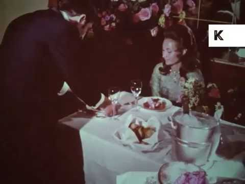1960s USA Fine Dining Restaurant, Souffle, Wealthy