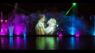 """Light and Music Fountain """"Roshen"""" in Vinnytsia - """"Swan lake"""", 2.05.16"""