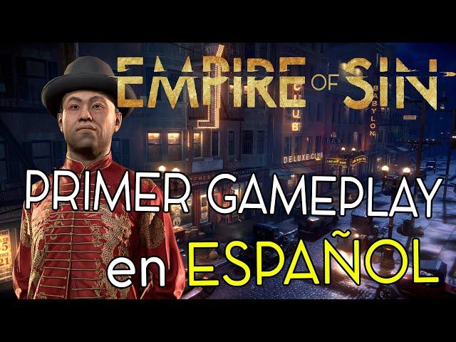 EMPIRE OF SIN - gameplay en español - primeras impresiones!