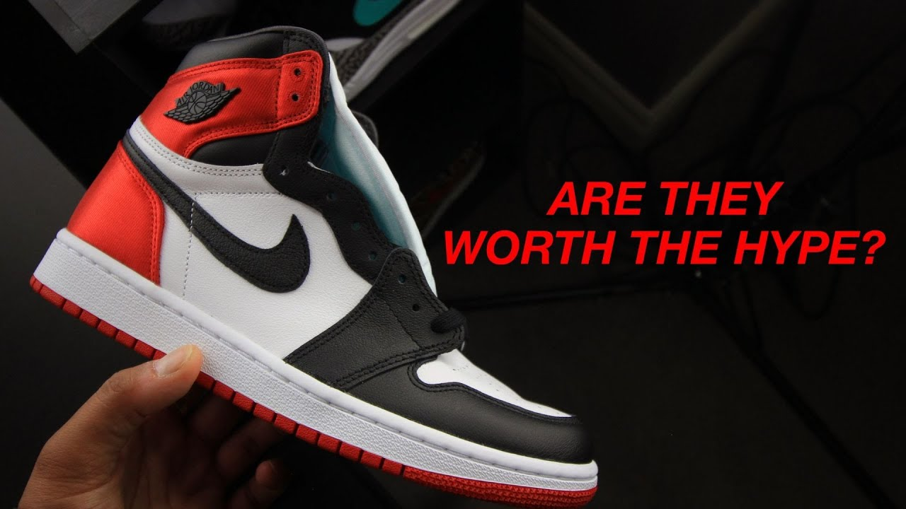 low priced 08e3f deef7 Brutally Honest Review of the Air Jordan 1 Women's Satin