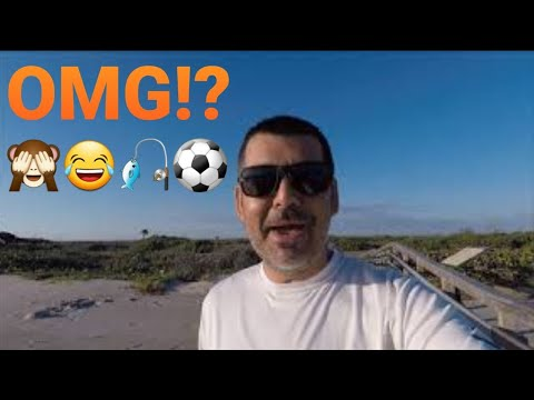 wow!😂you-are-not-gonna-believe-what-i-caught-at-the-playalinda-beach!🙈😁⚽