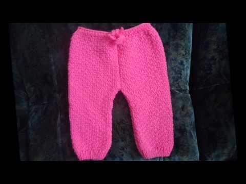 Детские штаны. Как вязала? Два варианта детских вязаных штанов