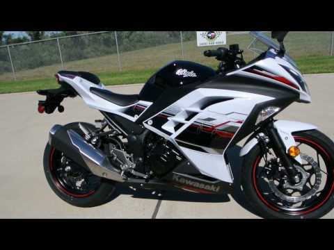 $5,499: 2014 Ninja 300 Special Edition ABS Pearl Stardust White
