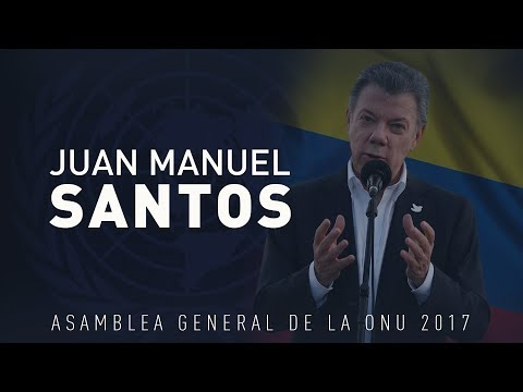 El discurso de Juan Manuel Santos en la Asamblea General de la ONU 72 (VERSIÓN COMPLETA)