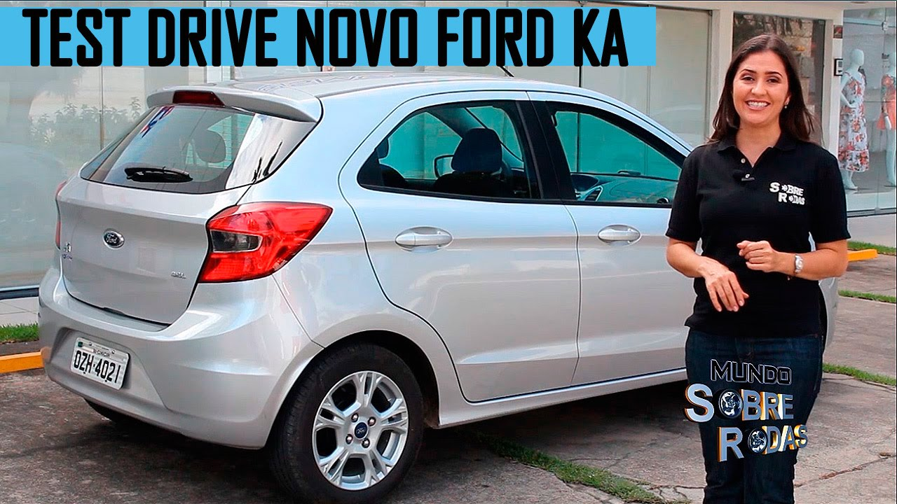 test drive novo ford ka 2015 1 0 sel youtube. Black Bedroom Furniture Sets. Home Design Ideas