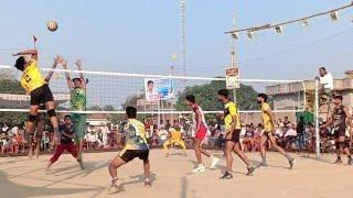 || N.E.R Gorakh pur VS Kotila Azamgarh || 1st Set || All Up Volleyball Tournament Bamhaur ||