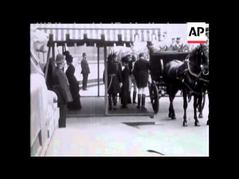 KING GEORGE V and QUEEN MARY - NO SOUND