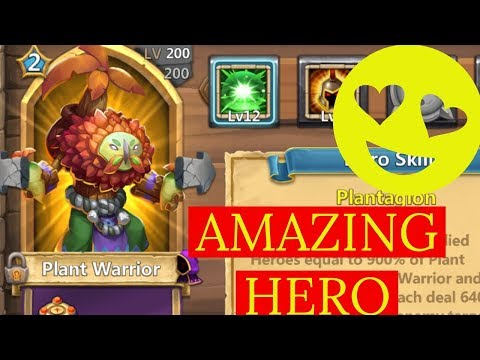NEW HERO PLANT WARRIOR