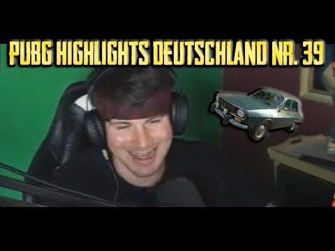 PUBG Highlights Deutschland #39 - Lostaiming wird random überfahren!