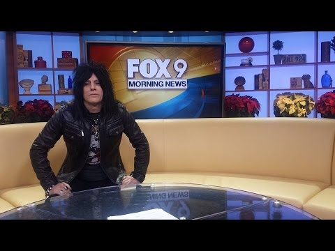 L.A. Nik  Cultural Trip to Japan. Fox 9 Morning Buzz
