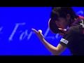 2016グランドファイナル 女子シングルス準々決勝 平野美宇vs帖雅娜