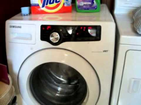 washing grassy shoes in my wf210anw front loading washer