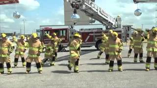 Firefighter Flash Mob: Stayin