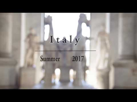 ITALY 2017 | MUSIC VIDEO | Milan, Venice, Florence & Rome