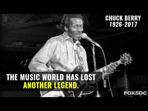 Rock 'n' Roll legend Chuck Berry dies at the age of 90